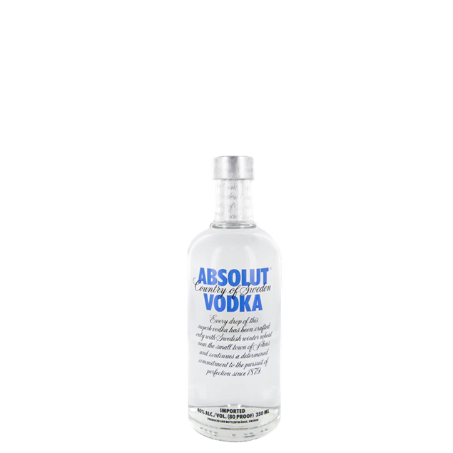 Absolut Vodka 350ml - Venus Wine & Spirit