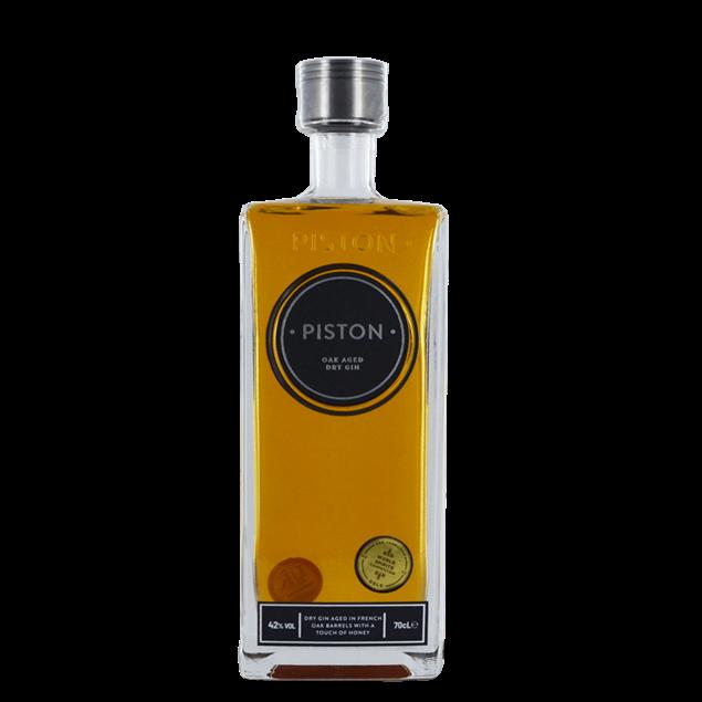 Piston Oak Aged Gin - Venus Wine & Spirit