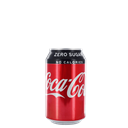 Coke Zero Can 330ml - Venus Wine & Spirit