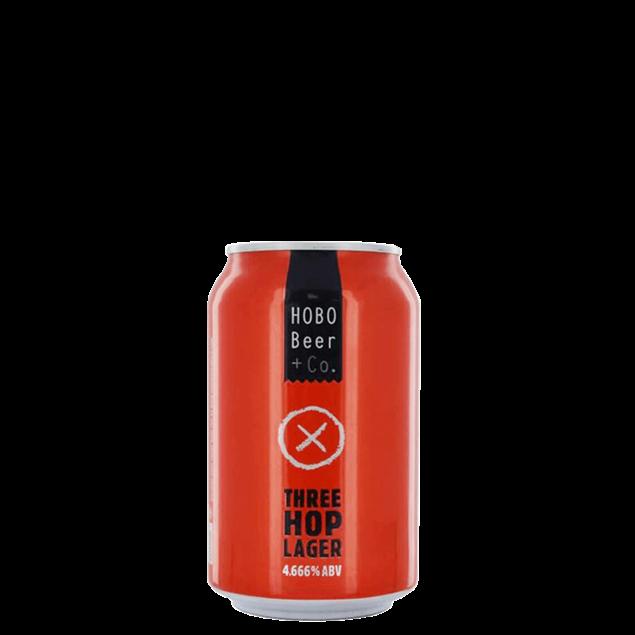 Hobo Three Hop Lager Cans - Venus Wine & Spirit